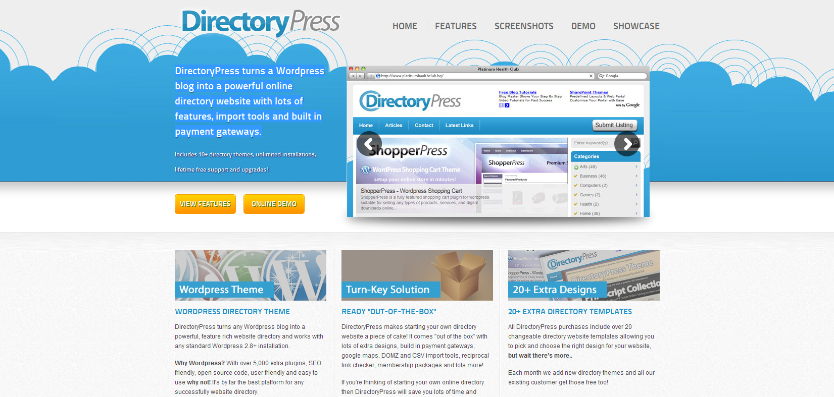 Directory Press - Directory theme for Wordpress