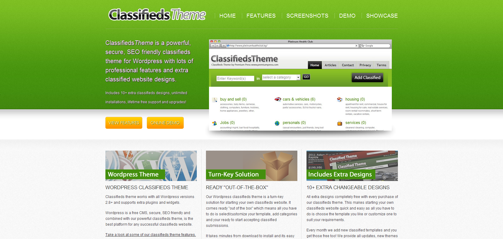 Classifiedpress - Classified Wordpress theme