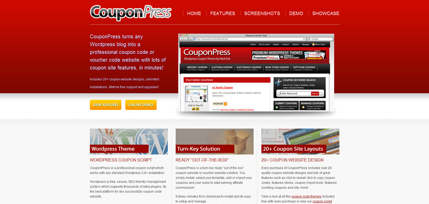 Couponpress - Coupon theme for Wordpress