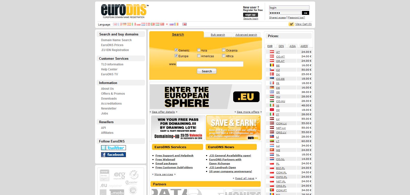 EuroDNS