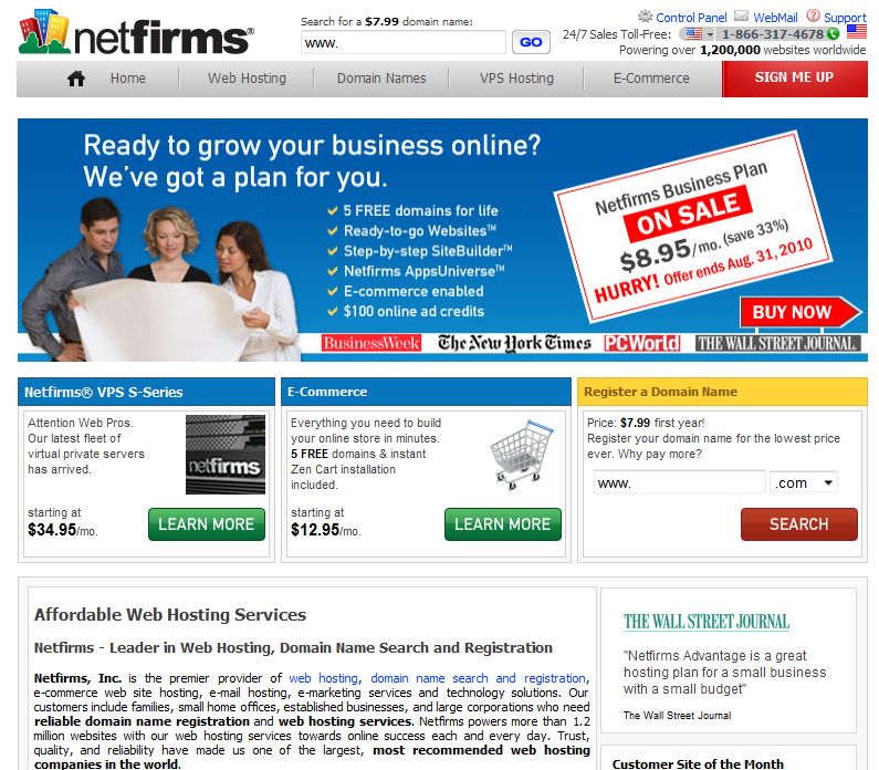 Netfirms Coupon Code